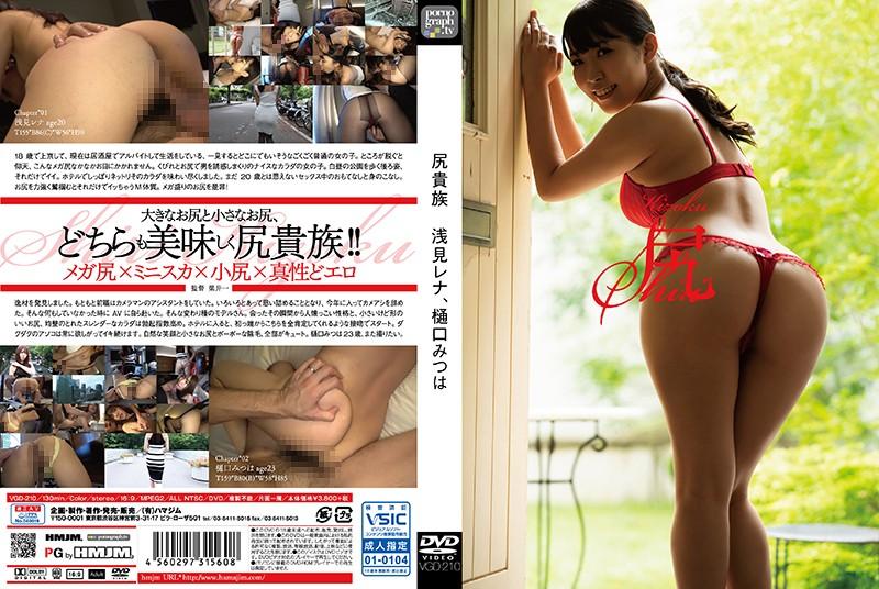 VGD-210 Ass Nobleman Rena Asami, Mitsuha Higuchi